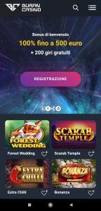 Buran Casino mobile