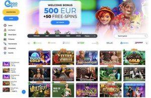 Ego Casino lobby