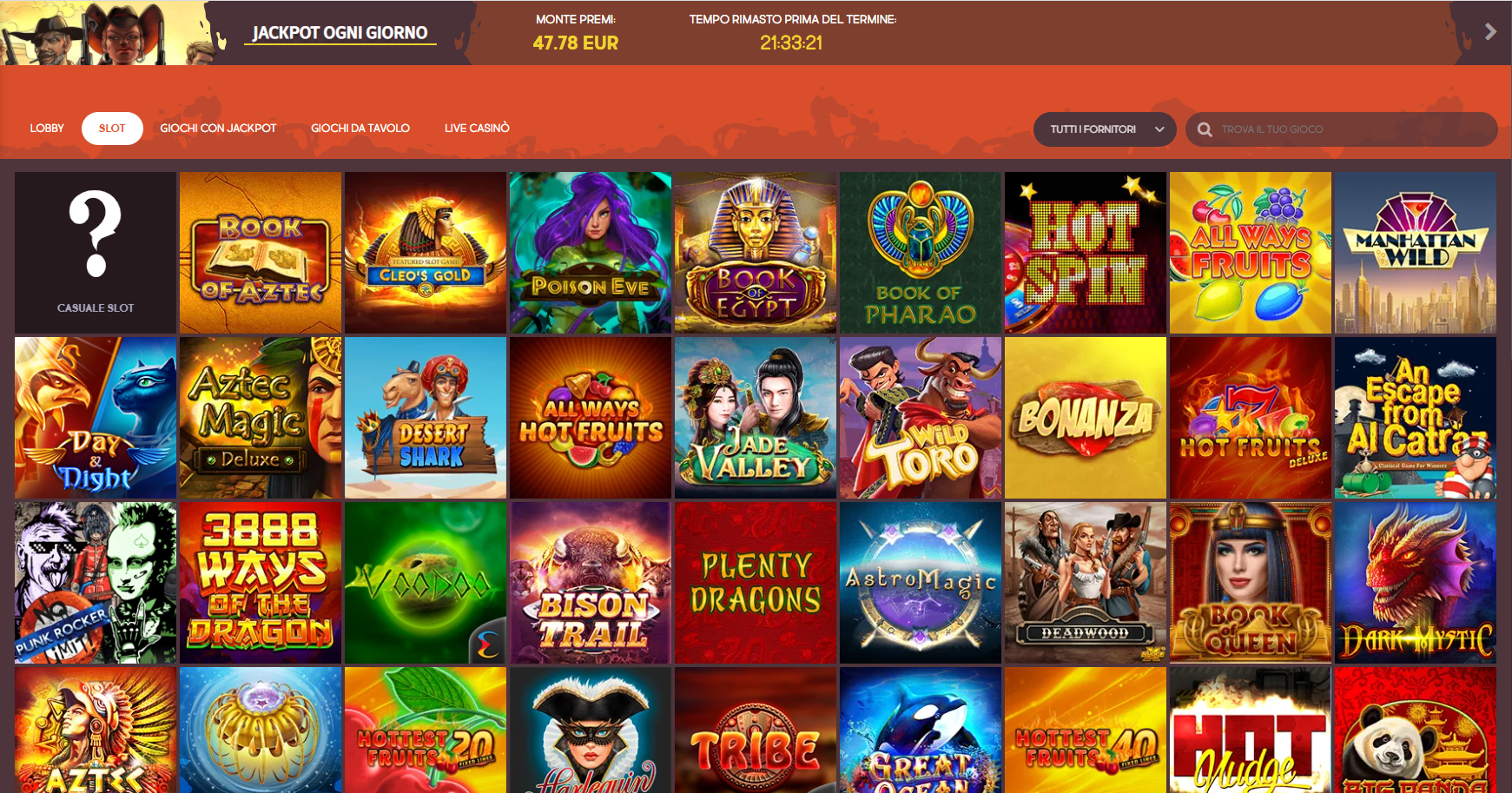 Giochi GunsBet Casino