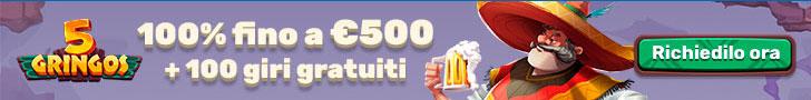 Bonus 5Gringos Casino