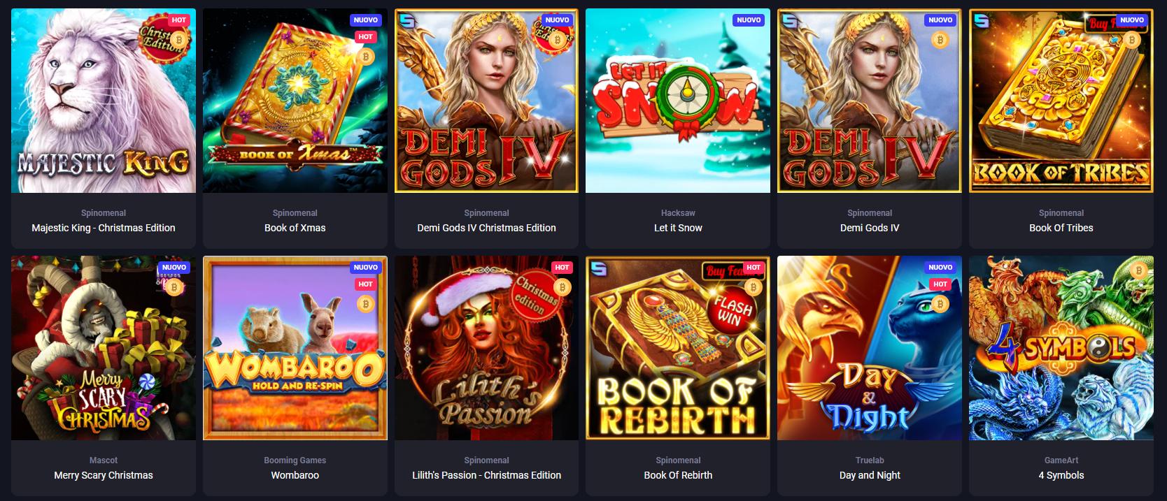 Giochi di Woo Casino