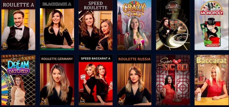 Live Rabona Casino