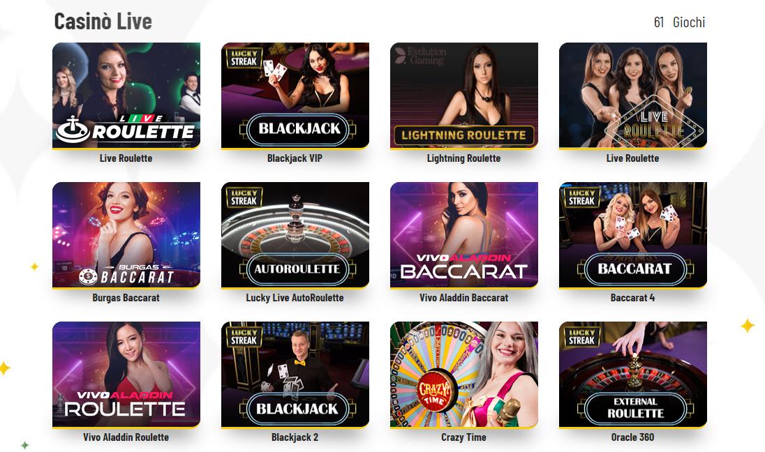 Live Casino MaChance