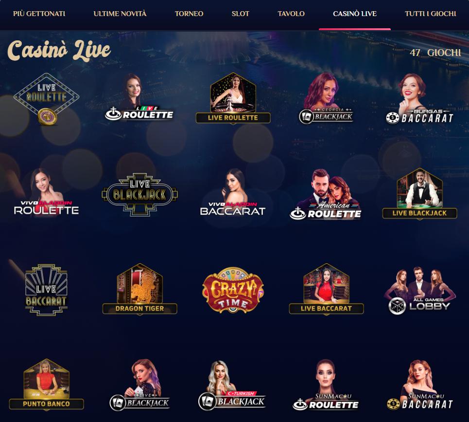 Live Casino VegasPlus