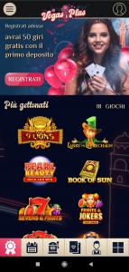 VegasPlus mobile