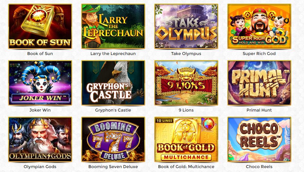 Giochi Unique Casino