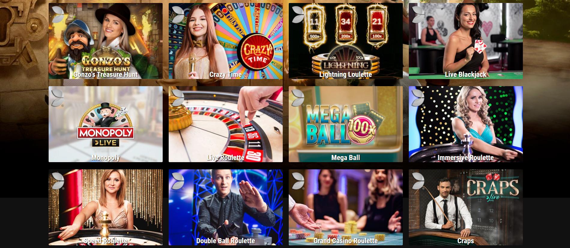 Live Casino BetRebels