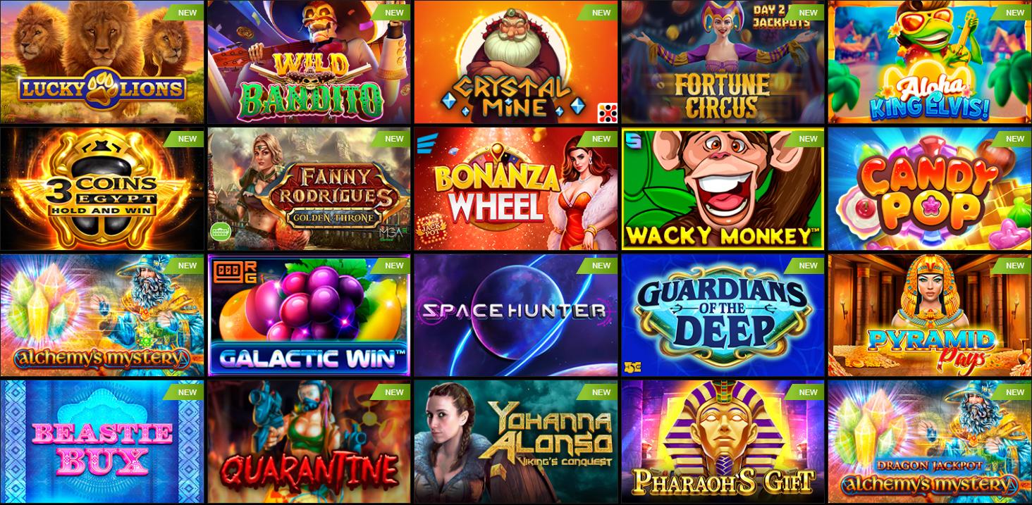 Giochi di PariPesa Casino