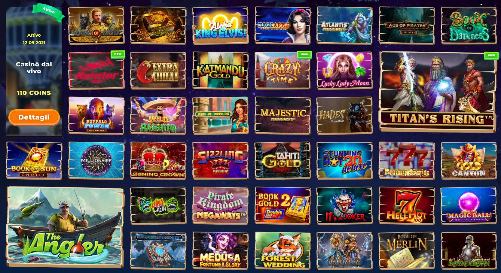 Giochi Wazamba Casino