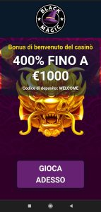 Black Magic Casino mobile